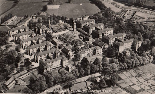 Image of Leavesden hospital from the Victorian era