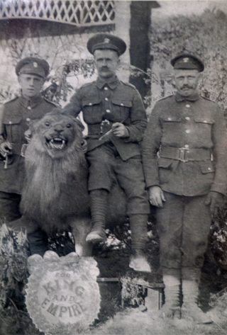 Taken on 28th June 1917 day before going to front. | Kevin Warcup via Pat Barrett of Kingston Upon Hull.