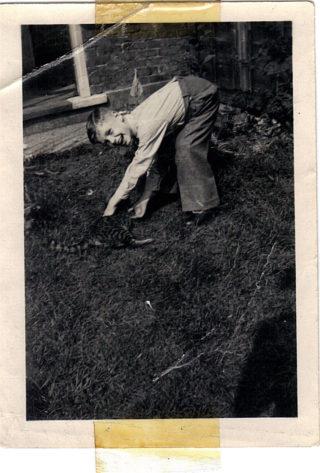 Dad in Hertford, aged 6.