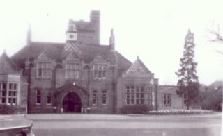 The Front Entrance of Hill End Hospital