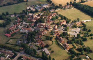 Aerial photograph of Cell Barnes Hospital   HALS: HM2/Ph/21