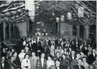 Staff dance, c1950s | HALS: HM2/Pr/3