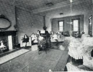 Nurses' Lounge, c1950s | HALS: HM2/Pr/3