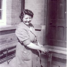 Mrs Rowe, the cleaner
