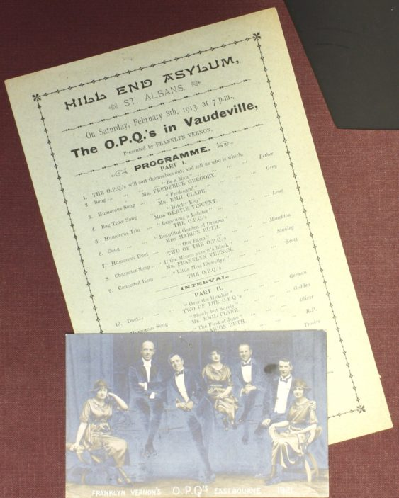 Programme for February 8th 1913 [HM1/A10/2] | Hertfordshire Archives and Local Studies