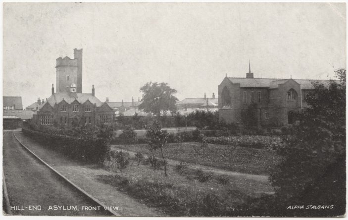 Hill End Asylum - Front View | St Albans Museums