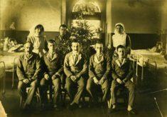 Napsbury Military Hospital, Ward M6, WW1. 19/08/1917 to 28/09/1917.