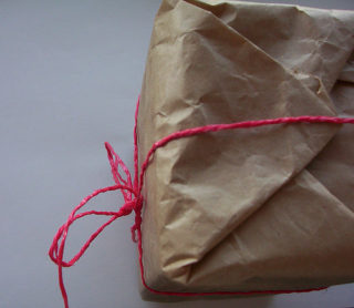 brown paper parcel | photo by Mundoo  FLICKR 2008