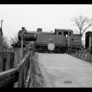 N7 tank engine with freight at Hill End Lane level crossing, eastern outskirts of St Albans, April 1960. | Michael Covey-Crump
