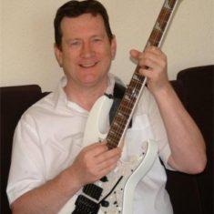Bob and his guitar