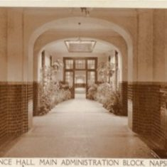 Entrance Hall Main Administration Block Napsbury