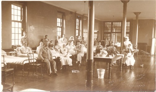 Ash Hall Nursing Home History