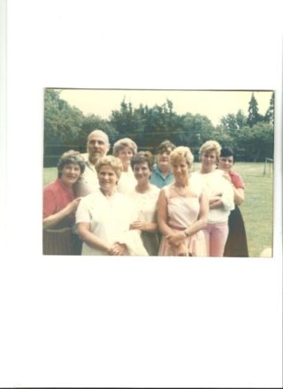 Hill End staff 1980s and 1990s